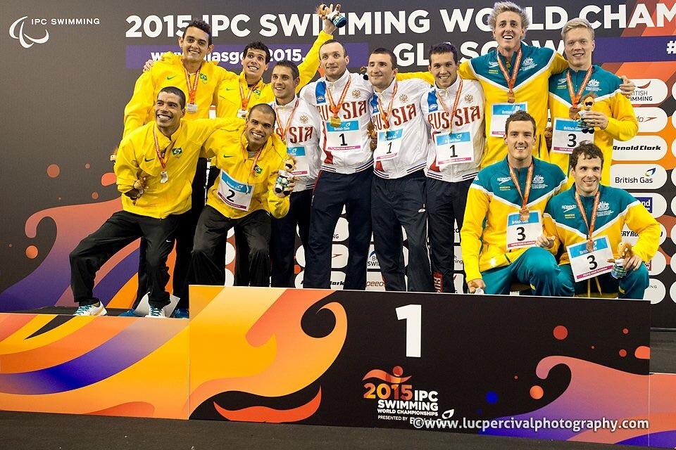 Сборная России в шестой соревновательный день завоевала 3 золотые, 2 серебряные и 5 бронзовых медалей чемпионата мира Международного паралимпийского комитета по плаванию в шотландском Глазго