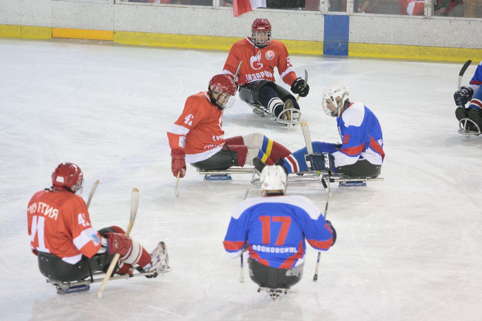 В г. Алексине на РУТБ «ОКА» пройдет первый круг чемпионата страны по следж-хоккею