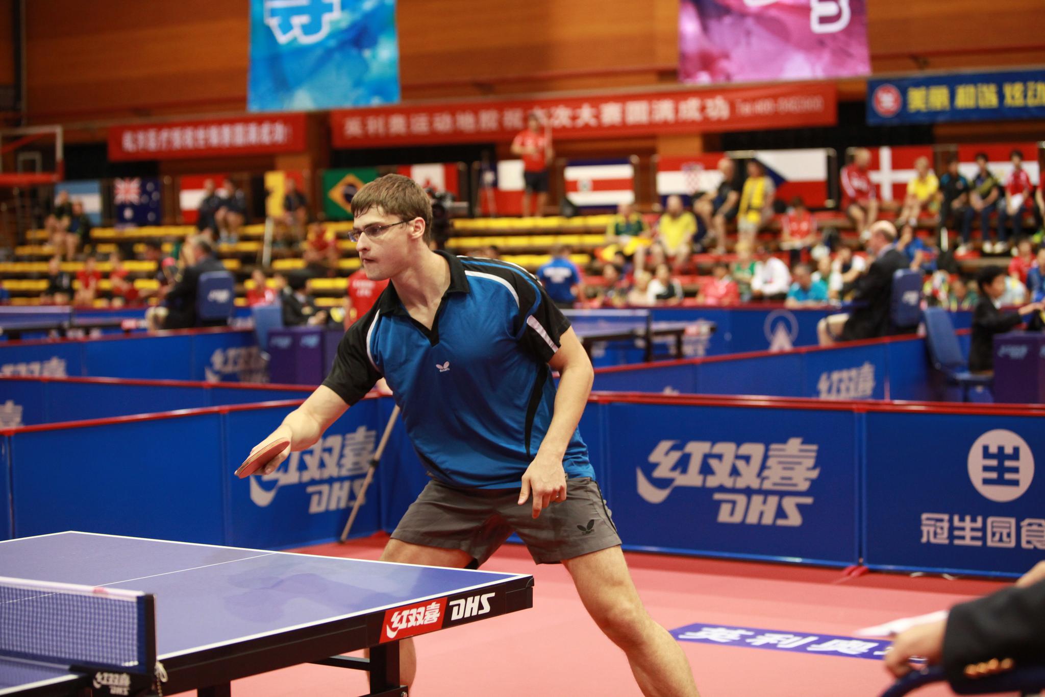 Российские спортсмены вышли в четвертьфинал чемпионата мира по настольному теннису спорта лиц с поражением опорно-двигательного аппарата и с интеллектуальными нарушениями в Китае