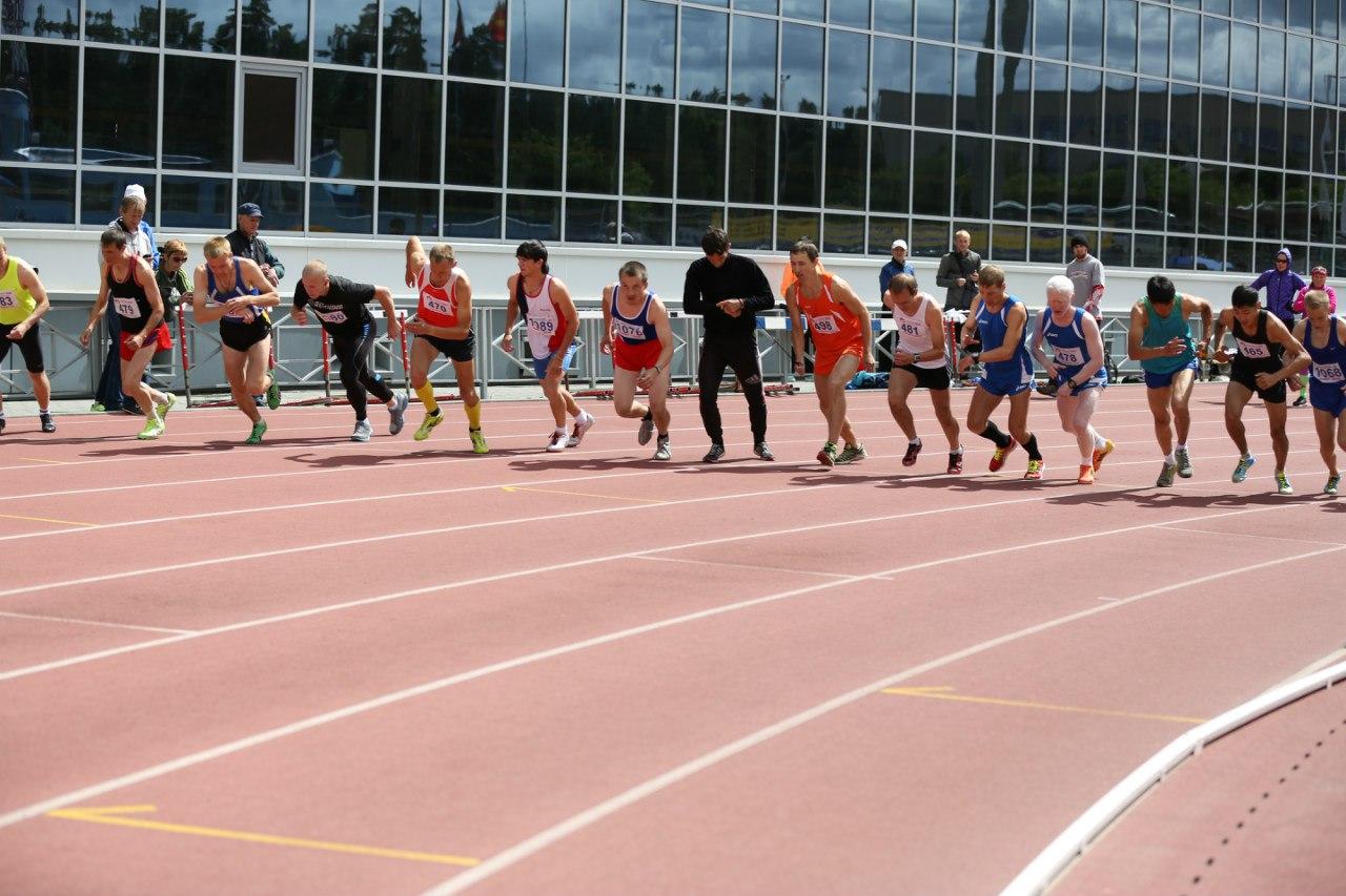 В Челябинске проходит чемпионат России по легкой атлетике среди спортсменов с нарушением зрения
