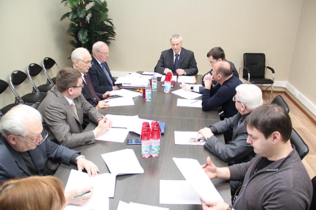 П.А. Рожков в зале Исполкома Дома паралимпийского спорта провел заседание Совета по координации программ, планов и мероприятий ПКР
