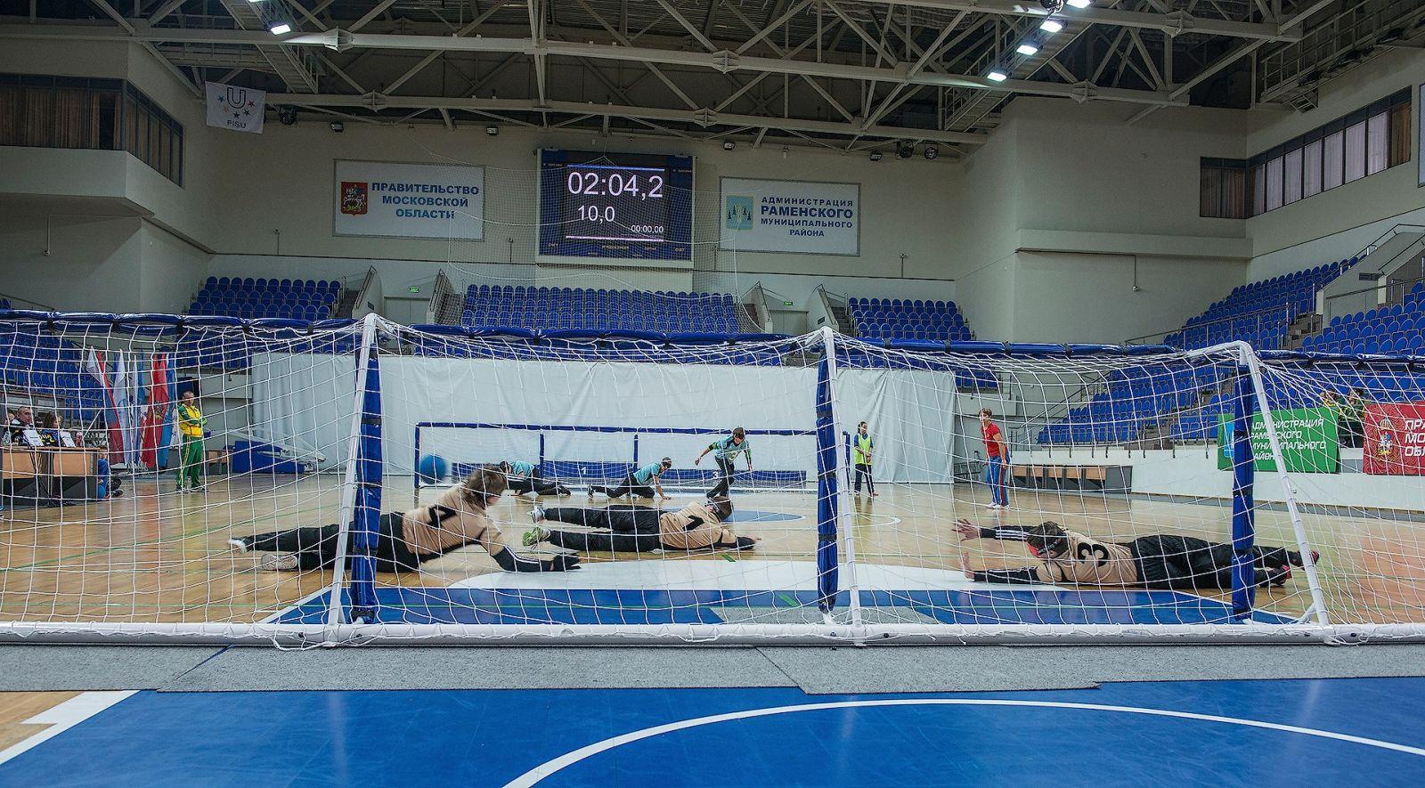 Мужская сборная России по голболу спорта слепых на чемпионате Европы в группе С нацелена добиться выхода в группу В