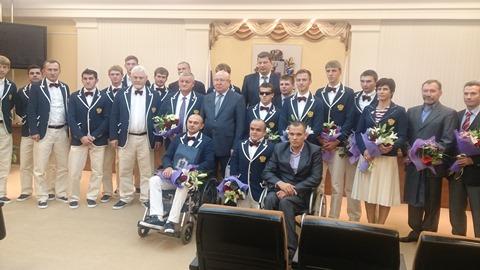 Губернатор Нижегородской области В.П. Шанцев провел встречу с нижегородскими паралимпийцами и их тренерами