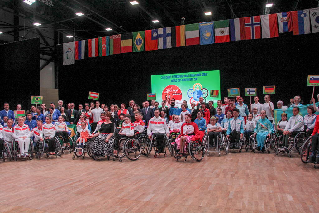 В Санкт-Петербурге завершился Кубок мира-Кубок Континентов по танцам на колясках