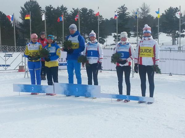 Сборная команда России завоевала 8 медалей в 4-ый день чемпионата мира по лыжным гонкам и биатлону спорта лиц с поражением опорно-двигательного аппарата и спорта слепых в США