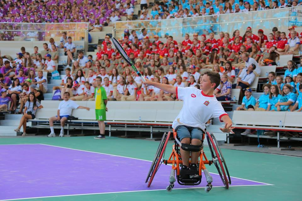 Подмосковный спортсмен Сергей Лысов примет участие в первенстве мира по теннису на колясках во Франции