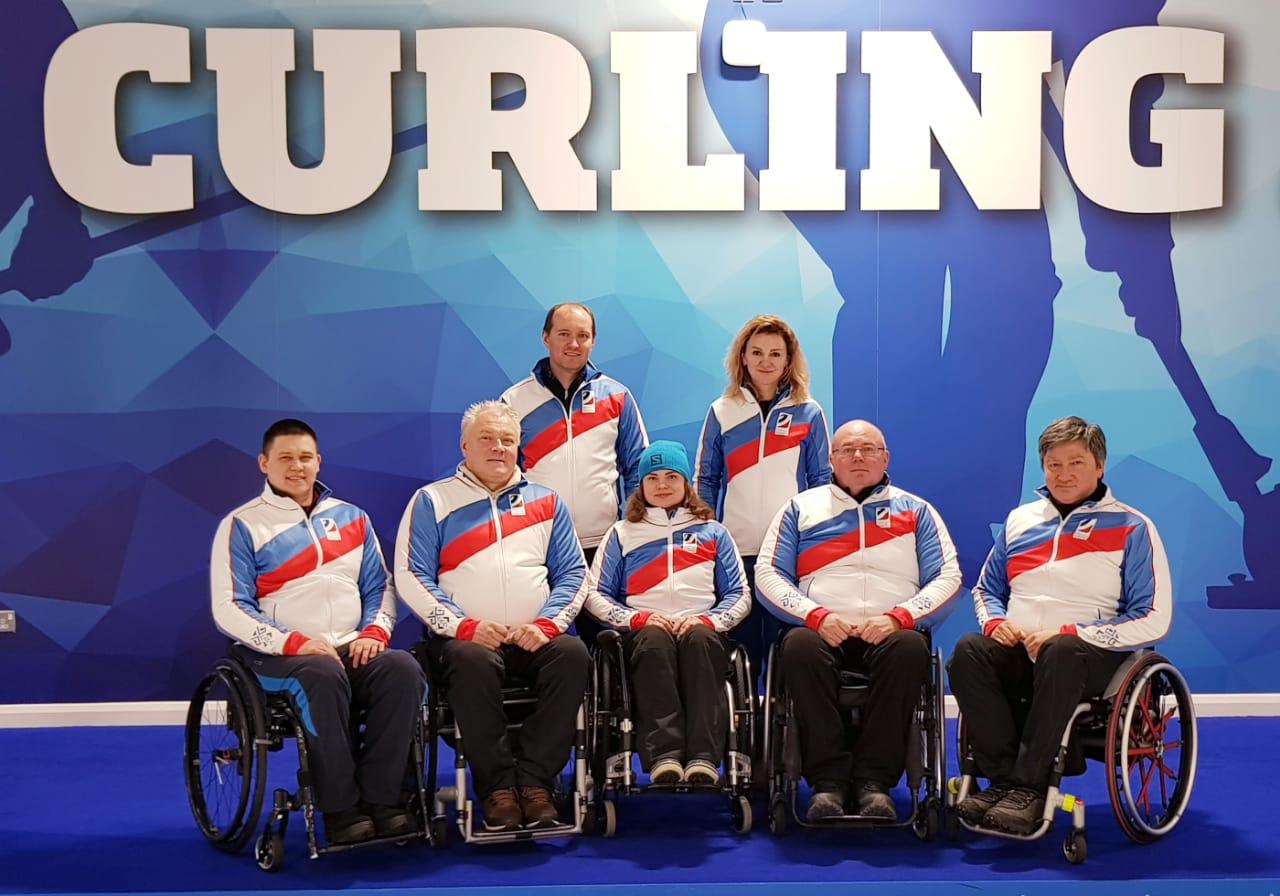 Сборная команда России по керлингу на колясках примет участие в чемпионате мира в Шотландии