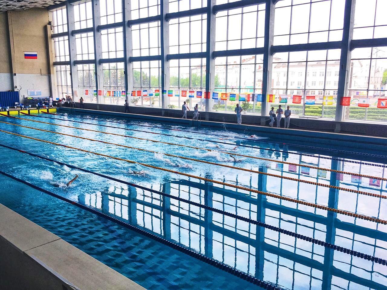 В Дзержинске стартовали чемпионат России по плаванию спорта лиц с ПОДА и Кубки России по плаванию спорта слепых и ЛИН