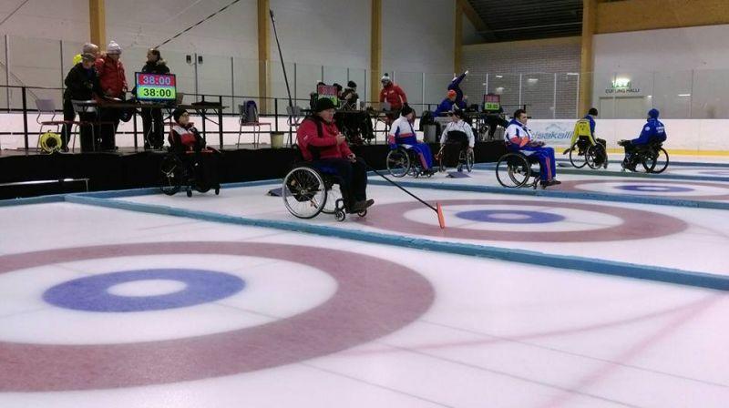 Сборная команда России-1 по керлингу на колясках заняла 5 место на международных соревнованиях в Финляндии