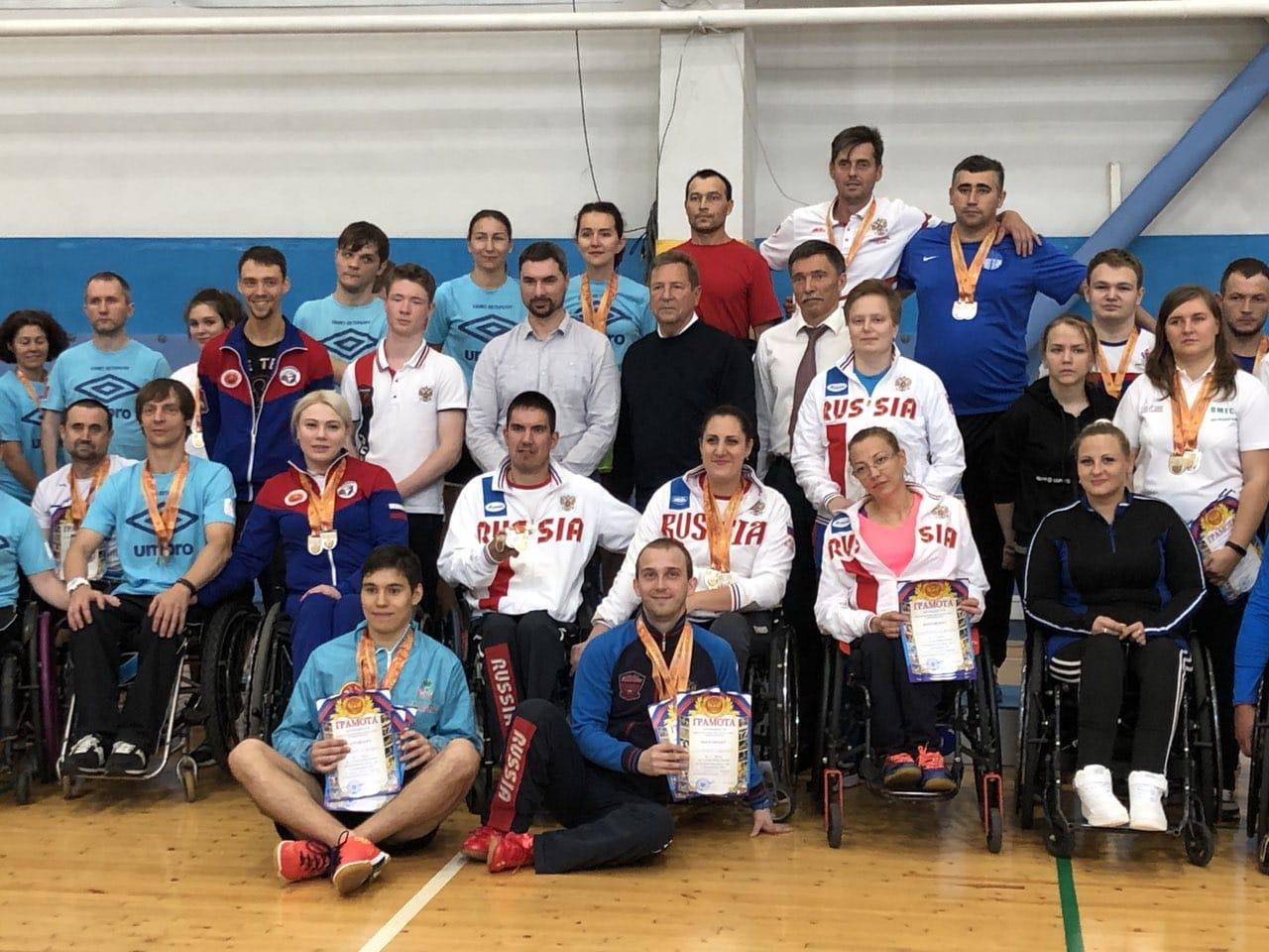 В Ставрополе завершился 2 этап Кубка России по парабадминтону