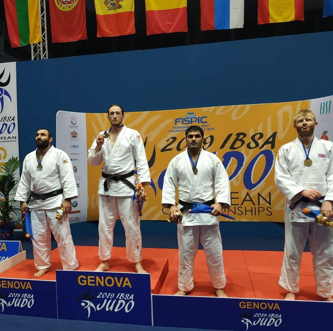 2 золотые, 3 серебряные и 3 бронзовые медали завоевала сборная команда России по дзюдо спорта слепых во второй день чемпионата Европы в Италии