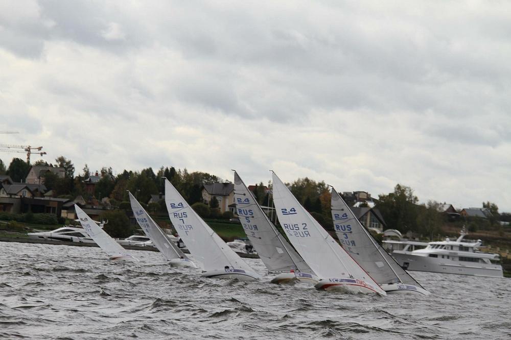 В Швеции завершились международные соревнования по парусному спорту в классе яхт 2.4mR
