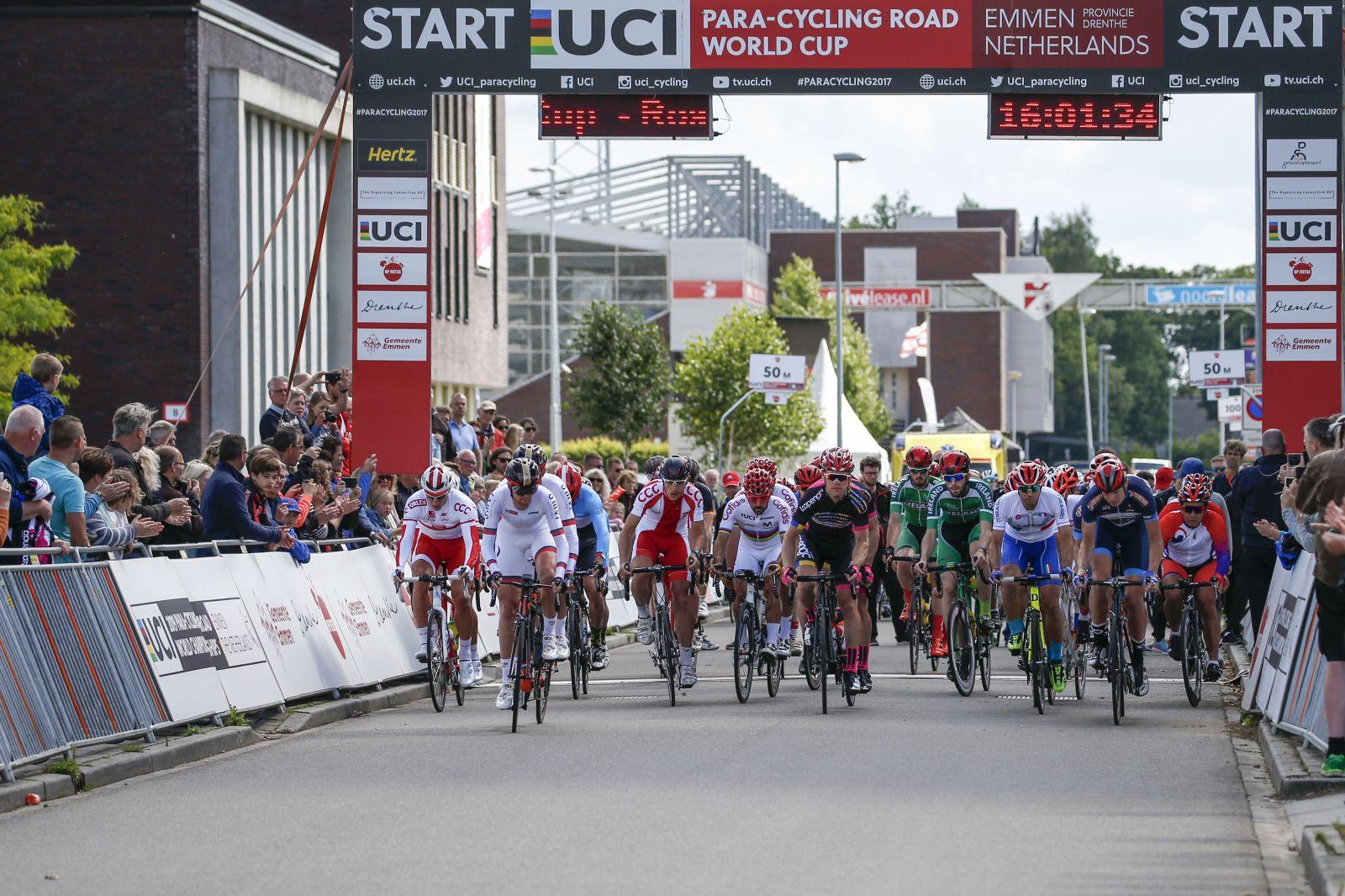 Второй этап Кубка мира по велоспорту среди лиц с ПОДА и нарушением зрения стартует в Нидерландах