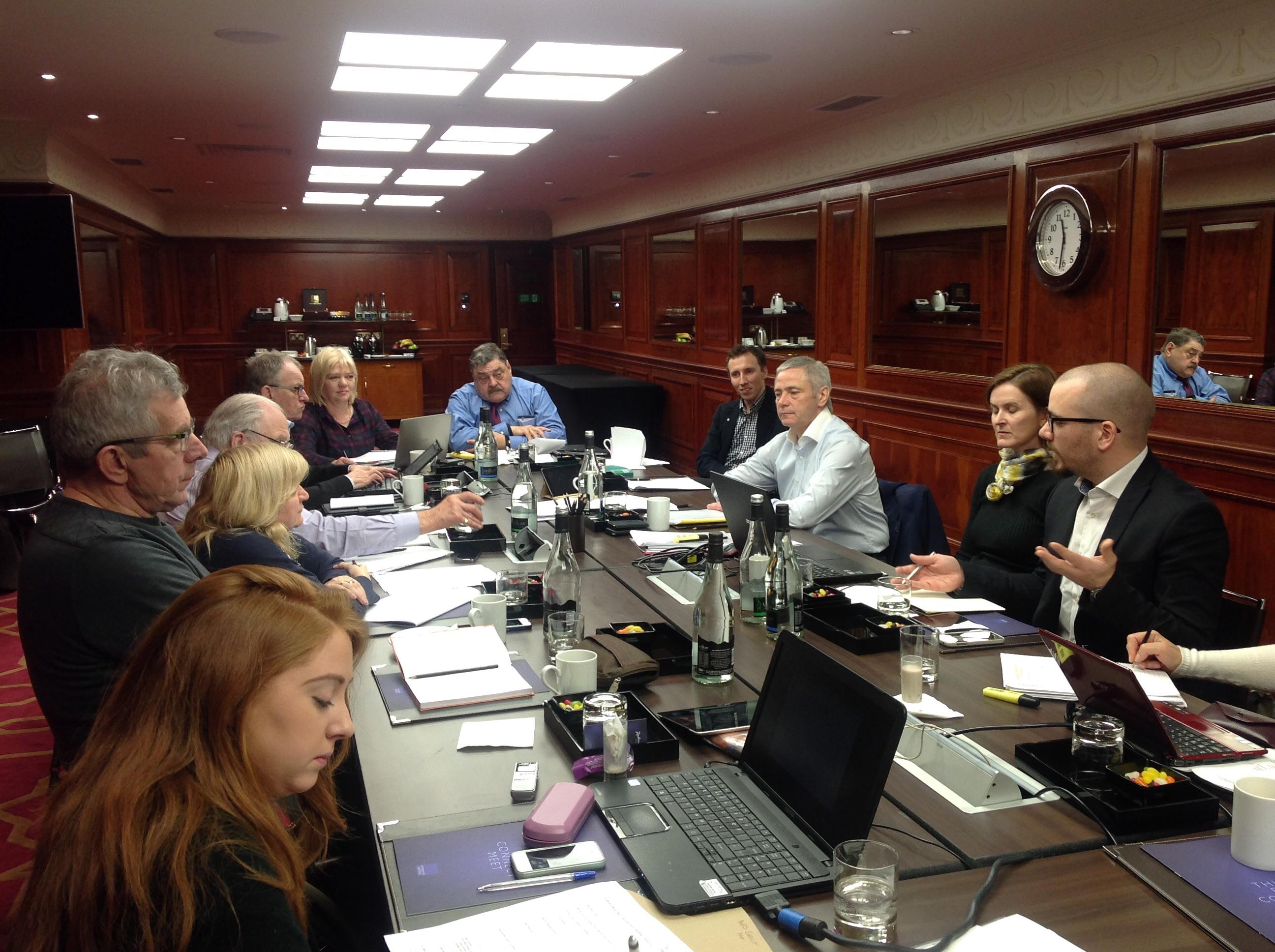 П.А. Рожков в г. Лондоне (Великобритания) принял участие в заседании Исполкома IWAS под руководством президента IWAS Пола Де Паса