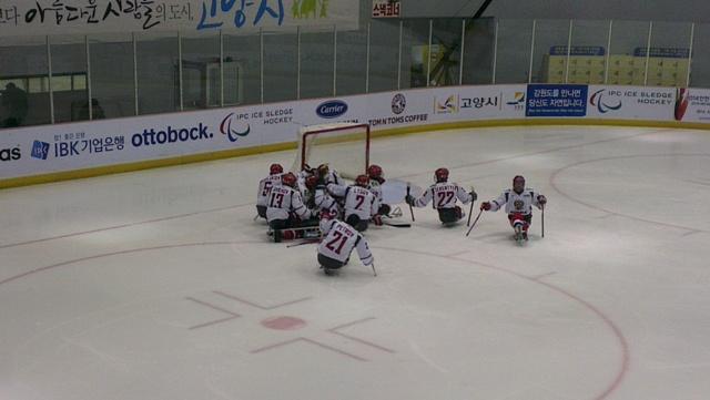 Сборная России по хоккею-следж стала бронзовым призером Чемпионата мира в Южной Корее