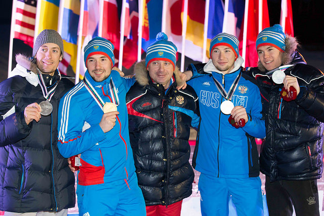 Сборная команда России по лыжным гонкам и биатлону среди спортсменов с ПОДА и нарушением зрения заняла первое место в  общекомандном зачете на чемпионате мира в США