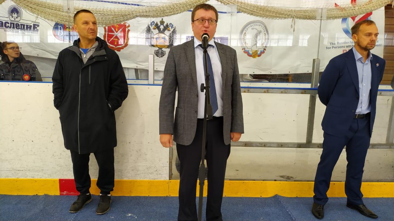 На РУТБ «ОКА» стартовал чемпионат России по следж-хоккею сезона 2019/2020 года