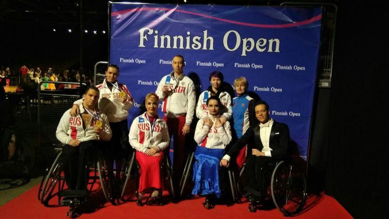Российские спортсмены подтвердили высокий уровень мастерства на открытом турнире по танцам на колясках в Финляндии