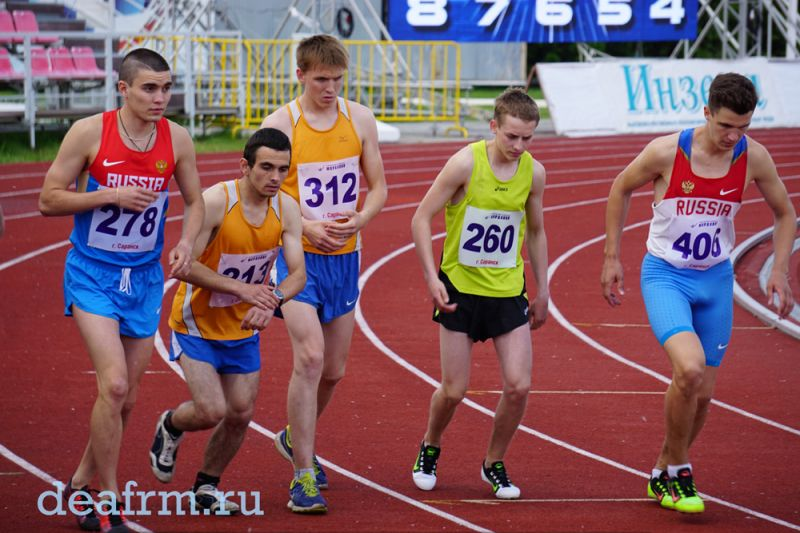 Определены победители чемпионата и первенства России по легкой атлетике спорта ЛИН