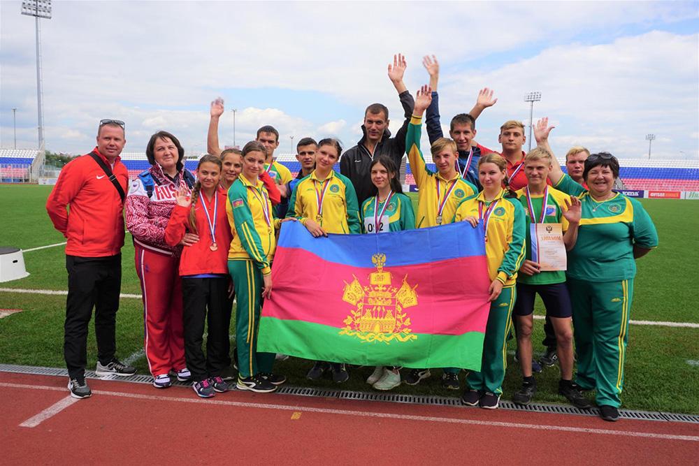 В г. Саранске завершились чемпионат и первенство России по легкой атлетике спорта лиц с ИН