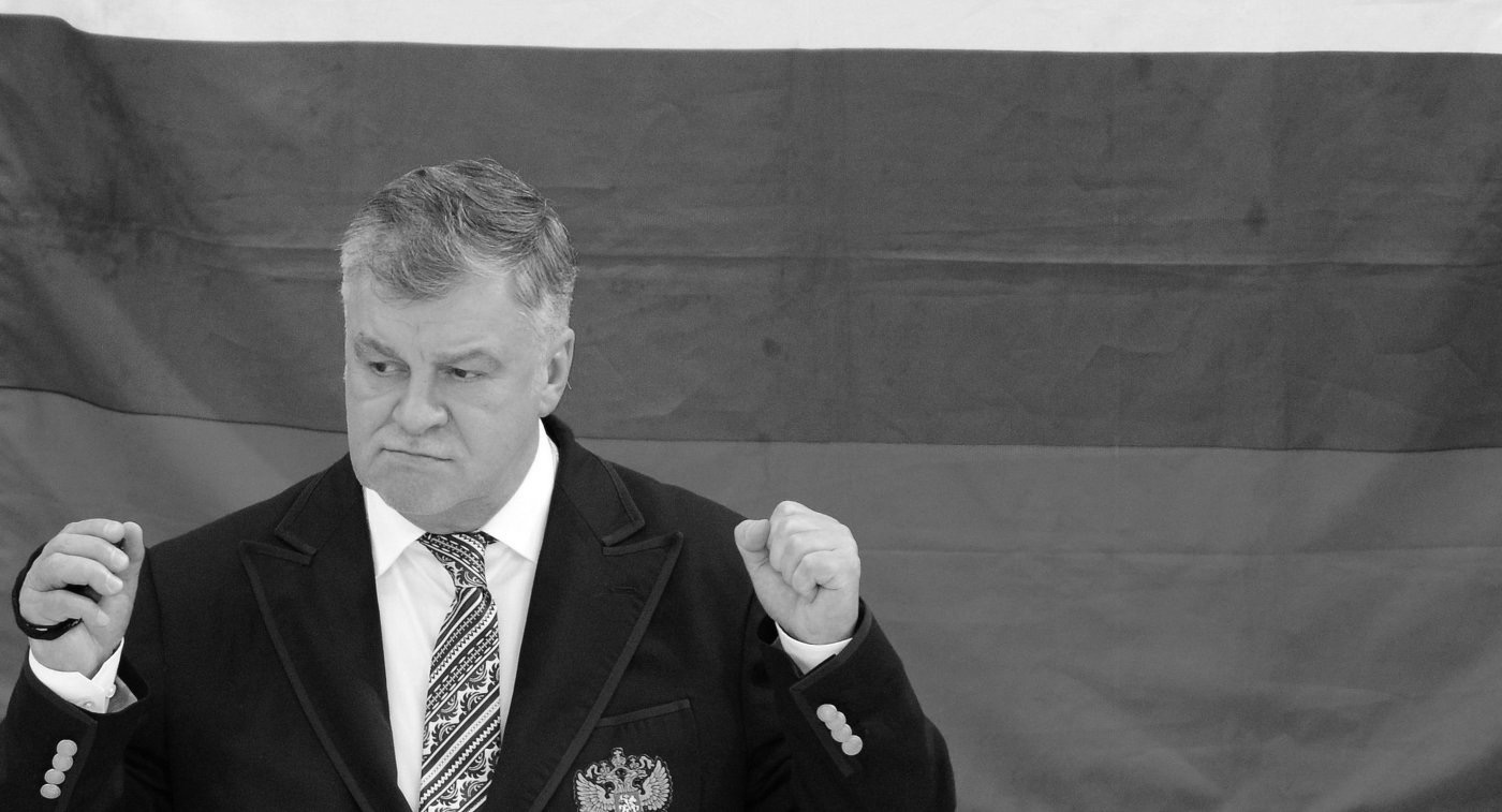 Ровно год назад не стало заслуженного тренера России, старшего тренера сборной команды России по следж-хоккею С.А. Самойлова