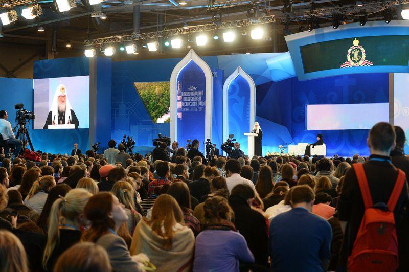 О.В. Семенова, Т.В. Савостьянова и И.А. Кальянова в г. Москве приняли участие в I Международном православном студенческом форуме