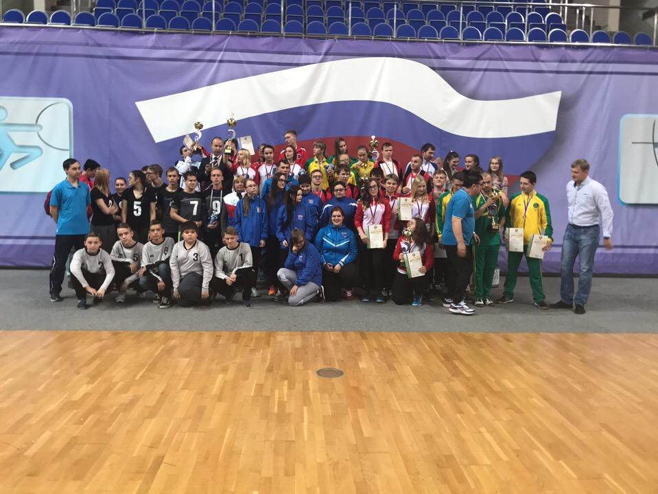 Мужская сборная Новосибирской области и женская команда Краснодарского края стали победителями первенства России по голболу спорта слепых