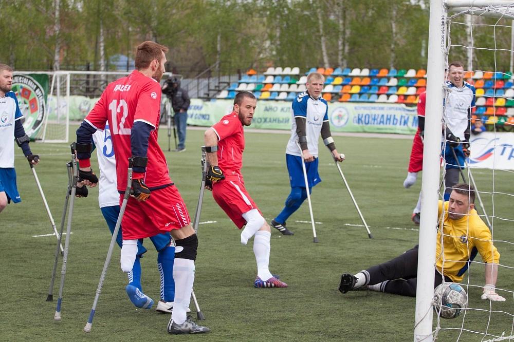 Команда из Республики Чечня стала победителем первого круга чемпионата России по футболу ампутантов