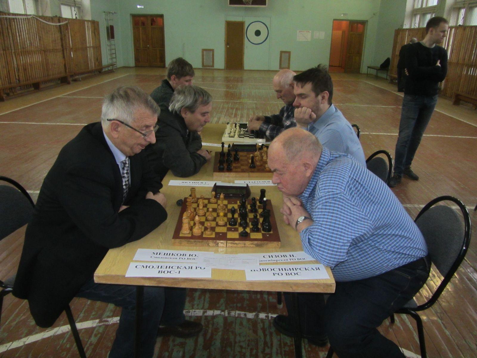Сборная Республики Хакасия стала победительницей командного чемпионата России по шахматам спорта слепых