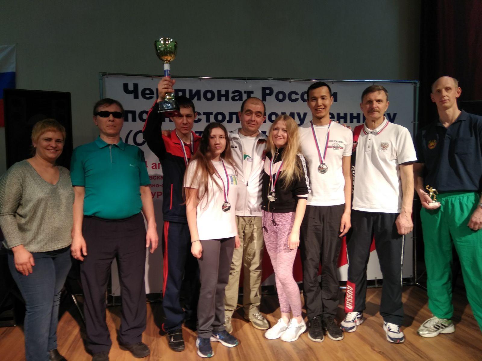 В Раменском завершился чемпионат России по настольному теннису спорта слепых