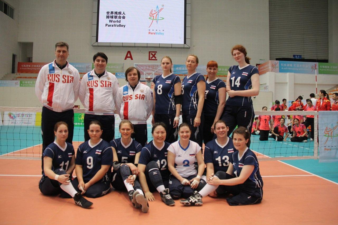 Женская сборная команда России по волейболу сидя примет участие в международных соревнованиях в Нидерландах