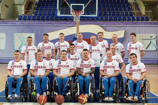 Сборная команда России по баскетболу на колясках примет участие в чемпионате Европы (дивизион В) в Бельгии