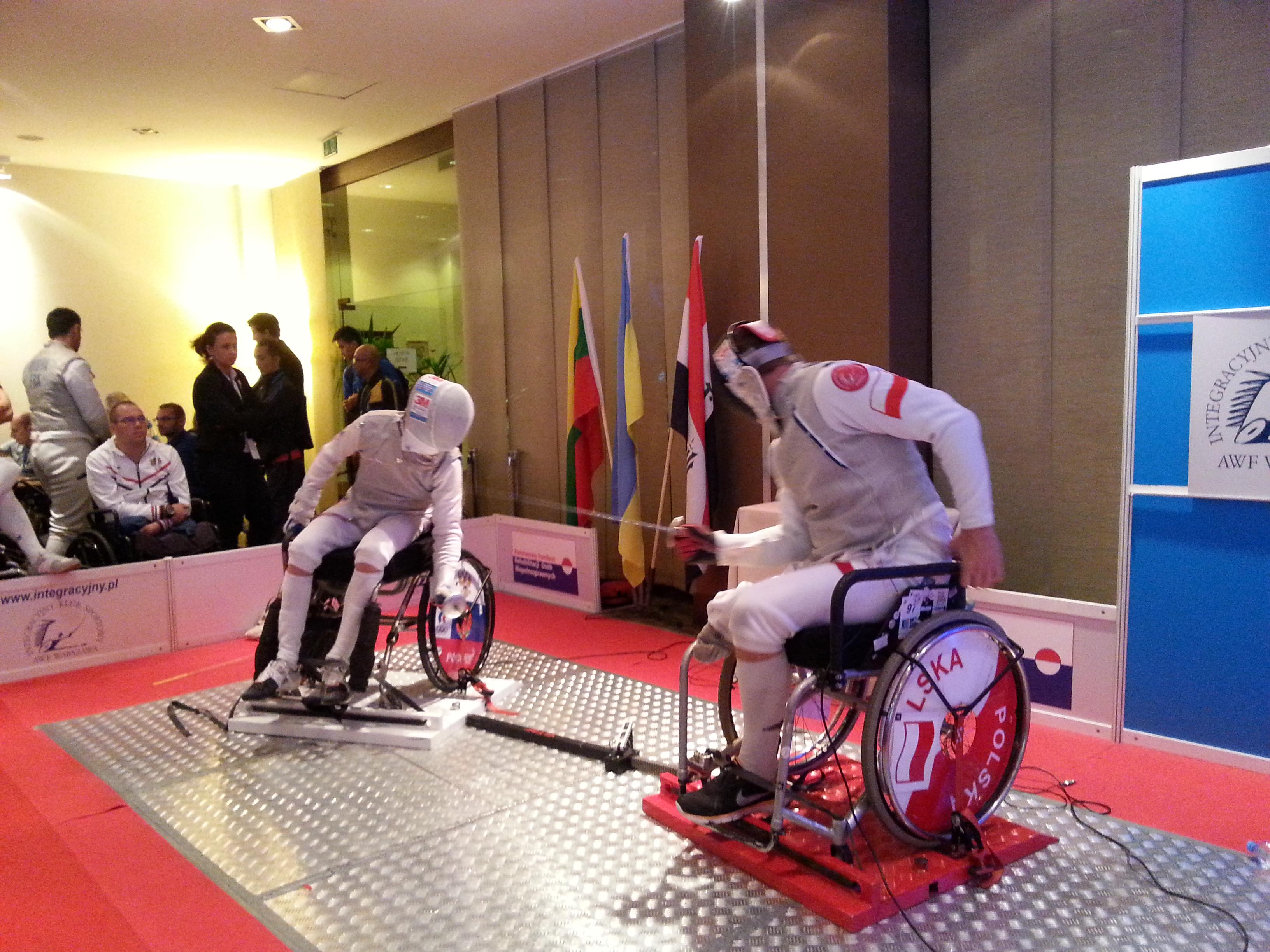 Сборная команда России по фехтованию на колясках вылетела в Китай для участия в Кубке мира