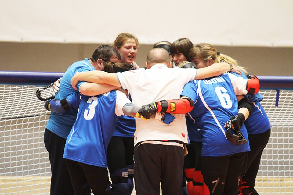 Женская сборная команда России по голболу вышла в полуфинал чемпионата мира в Швеции