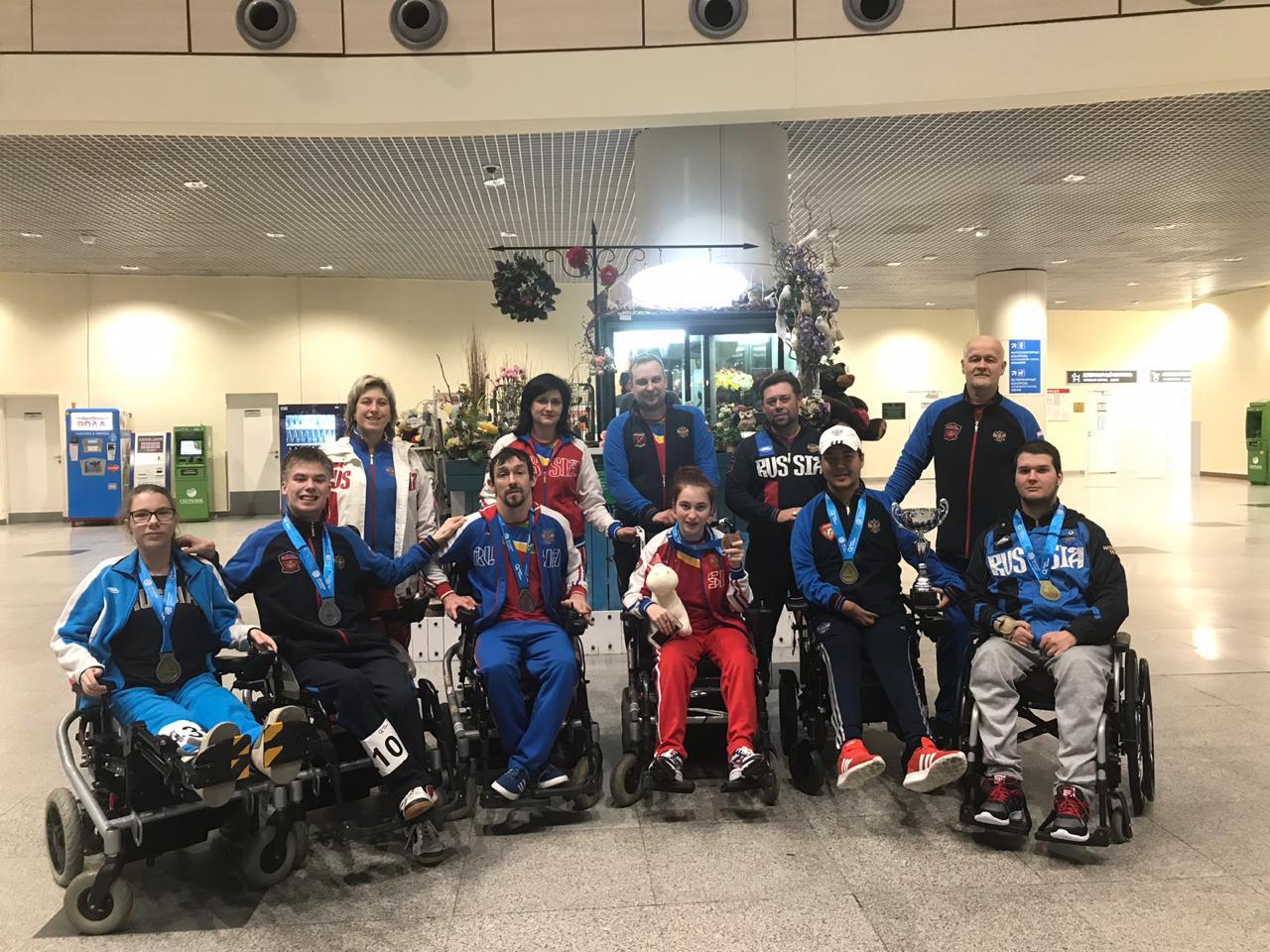 Золотую, серебряную и бронзовую медали завоевали российские боччисты на международных соревнованиях в Канаде