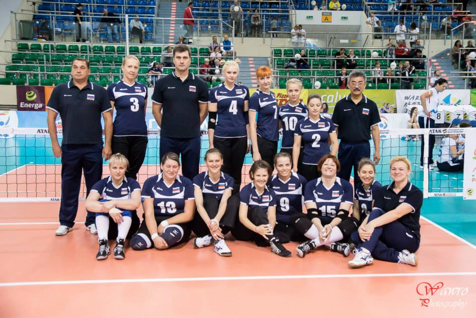 Женская сборная команда России по волейболу сидя завоевала бронзовые медали чемпионата мира, который завершился в Польше