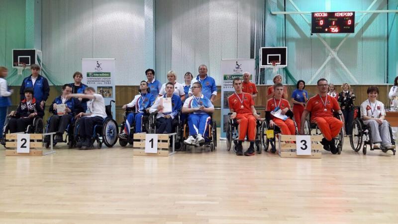 Представители пяти регионов стали победителями Кубка России по бочча спорта лиц с ПОДА
