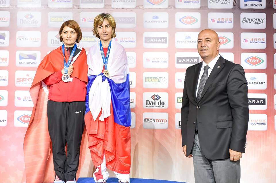 Сборная России завоевала 6 золотых медалей и победила в командном зачете на чемпионате мира по паратхэквондо в Турции