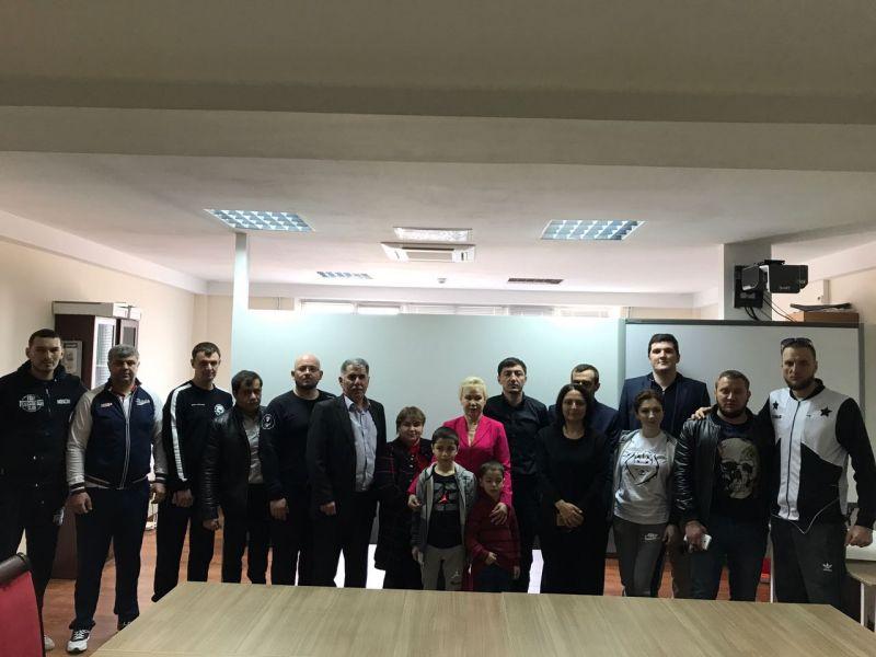 Р.А. Баталова встретилась со спортсменами-паралимпийцами Республики Дагестан