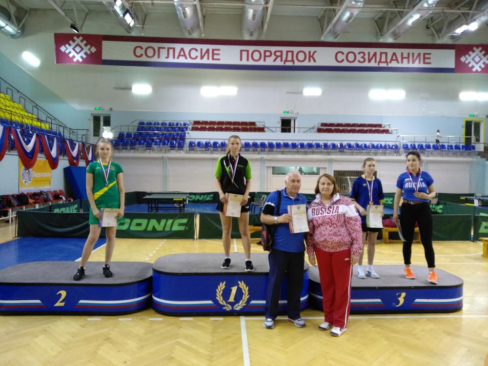В Республики Мордовия завершились чемпионат и первенство России по настольному теннису спорта ЛИН