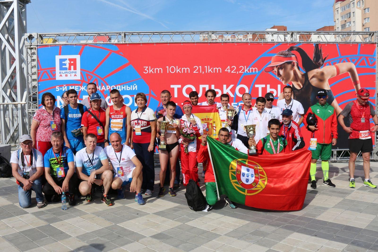 В Свердловской области завершились чемпионат Европы и чемпионат России по легкой атлетике (дисциплина полумарафон) спорта лиц с ИН
