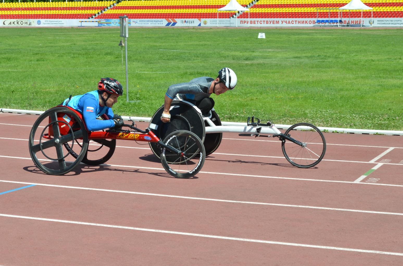 В г. Чебоксарах (Чувашская Республика) стартовал чемпионат России по легкой атлетике спорта лиц с ПОДА
