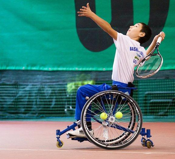 Чемпионат России по теннису на колясках стартовал в г. Дмитрове