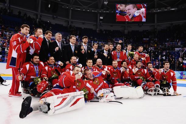 Сборная команда России по хоккею-следж признана лучшей командой по итогам XI Паралимпийских зимних игр 2014 года в г.Сочи по версии Международного паралимпийского комитета