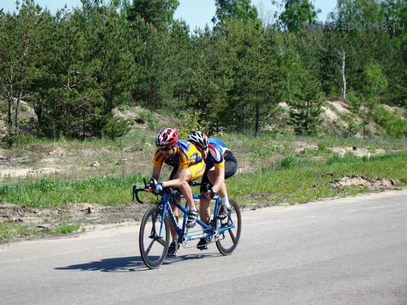 Сборная команда России по велоспорту-тандем (шоссе) спорта слепых приняла участие в Кубке мира в Испании