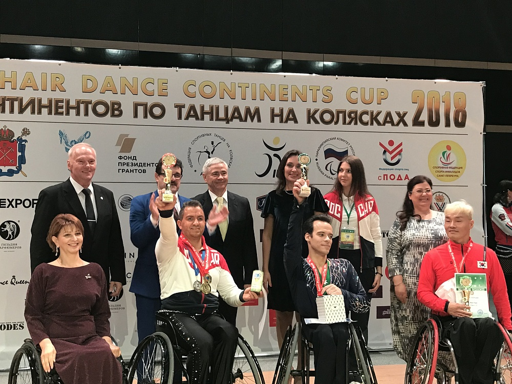 2018 WHEELCHAIR DANCE CONTINENTS CUP OPENED IN ST-PETERSBURG.