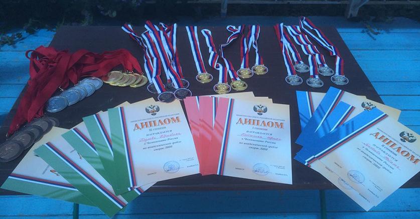 Сборная Московской области-1 выиграла чемпионат России по академической гребле спорта лиц с ИН