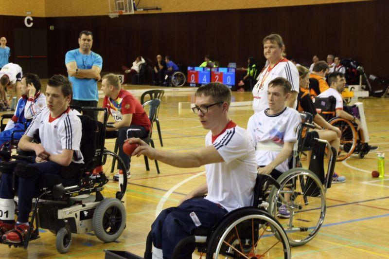 Спортсмены сборной команды России по бочча примут участие в международном турнире в Чехии