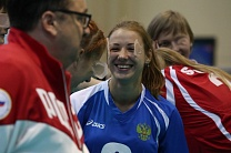 #trainingtogether with World champion in Goalball among VI Athletes Anna Shevchenko
