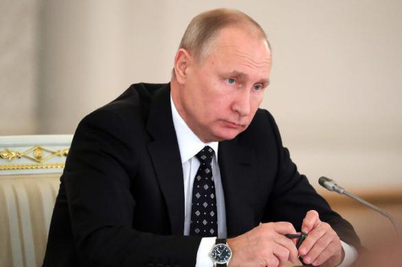 Приветствие Президента РФ В.В. Путина российским паралимпийцам – участникам XII Паралимпийских зимних игр в Пхёнчхане